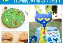 Pete the Cat - Tot School
