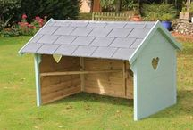 Poultry Shelters & Gyms / Boredom busters, shelter from sun and rain, dust baths and activity gym all available to keep your hens and cockerels entertained #HappyHens