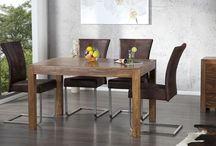 Kolekcja mebli drewnianych / Inspirujące, modne, nowoczesne, naturalne meble z drewna
