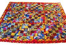 Quilts cushions throws and mats