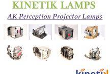 A+K Perception Projector Lamps