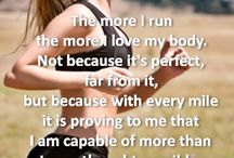 Workout + healthy eating quotes