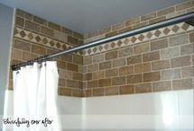 Bathroom ideas / Badkamer ideeën voor de verbouwing