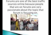 How To Increase WebsiteTraffic Videos / These videos will show you how to increase traffic to your website through forums, LinkedIn, Twitter, Facebook, Stumble Upon, blogging communities and so much more.