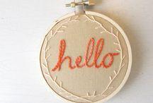 Embroidery etc / by Ellissa Baird