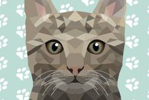Geometric animals / Geometric animals