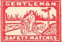 Matches - Labels / Zapałki - Etykiety