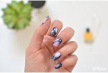 Creative finger nails