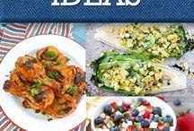 Patriotic Holiday Recipes & Crafts