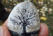 камни роспись