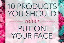 Produkter / Ikke putt dett på kroppen din