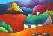 Maľovanie, krajinky