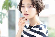 【オトナ可愛いヘアスタイル】ショート
