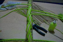 ручки плетеные