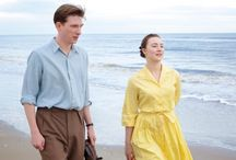 On Chesil Beach / On Chesil Beach starring Saoirse Ronan and Billy Howle, based on the book by Ian McEwan, coming to the screen in 2018.  http://www.chapter1-take1.com/2018/02/on-chesil-beach-starring-saoirse-ronan.html