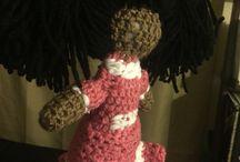 Crochet doll I made Mashallah!! / Custom made crochet doll I made MashaAllah!!