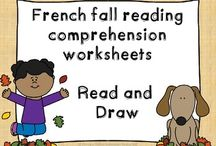 Reading / Resources and ideas for teaching reading in primary French and English classrooms.