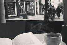book and coffe