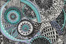 zentangle / by Rhonda Moreau