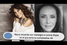 Mayra recuerda con nostalgia a Lorena Rojas en el que sería su cumpleaños 46