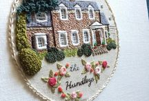 Embroidery creative