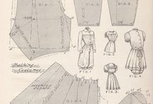 Bellezze al bagno ~ Victorian bathing costumes / Victorian bathing costumes for women