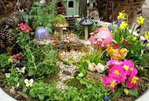 Faerie Gardens! / Faeries, faeries, rah, rah, rah! Faerie gardens are pretty and they rock!
