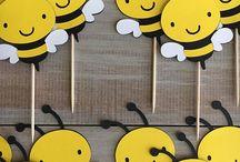 Cumpleaños Abeja ape bee