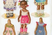 Paper Dolls / Collecting Paper dolls / by Anna Burdick