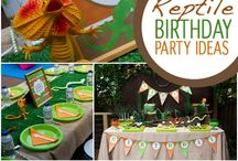 Lizard Birthday Party