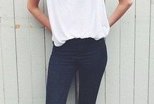 White T shirt outfit