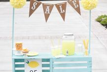 Lemon stand cute ideas