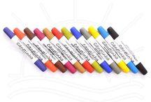 Pinturas com canetas para tecido