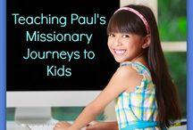 Bible: Paul's Journeys
