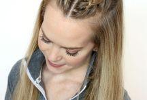 Peinado mixto