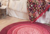 tapetes de crochet redondos