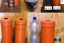 DIY-PET bottle & can press / Save space,Recycle,Reuse,Reduce