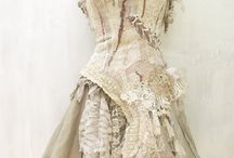 Ribbons and lace, silk and tulle