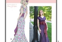 Sew Chic Pattern Fantasia #LN9005 : Womens Sewing Patterns / Love the Fantasia Dress? On this board we have collected everything on the web into one place to help you plan, sew, and wear this dress by Sew Chic Patterns