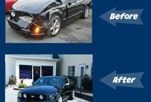 Before & After / Vehicles we've repaired.