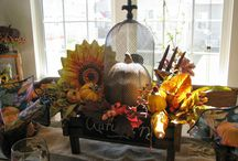 Fall Fabulousness! / Fall is in the air! Check out and create your own fabulous fall centerpieces. Great ideas!