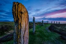 """Orkney Islands / A place of """"witchcraft, fairies, ghosts, hobgoblins, and the whole of the superstitious ideas derived from the idolatrous religion of our ancestors."""" Sounds like fun."""