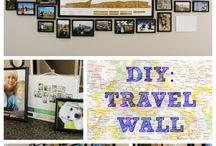 Фото на стене. Путешествия.