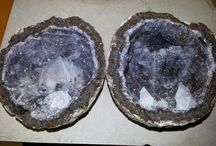 Geodes that we broke for customers