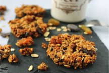 Biscuits avoine caramel