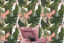 Tresznerbarbara pattern / Wallpaper and textil patterns