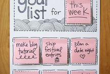 organizing / by Katy Stryker