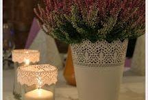 Our Wedding / #heather #flower #wedding #violet