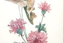Virág festési stilusok