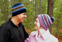Hat Knitting Patterns / When you don't have much hair, hats become a favorite accessory!